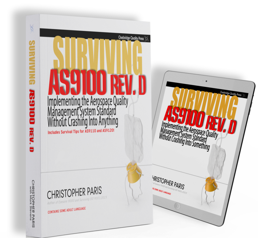 Cover of Surviving AS9100 book